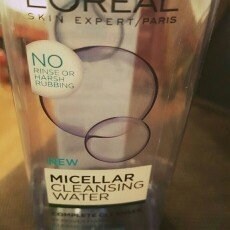 L'Oreal Paris Micellar Cleansing Water for Normal to Oily Skin 13.5 fl. oz. Bottle uploaded by Heather B.
