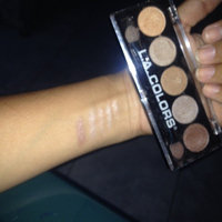 L.A. Colors 5 Color Metallic Eyeshadow, Tea Time, .26 oz uploaded by Thaymar G.
