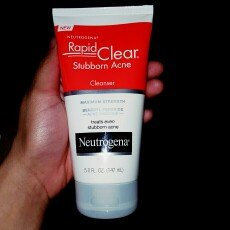 Photo of Neutrogena® Rapid Clear Stubborn Acne Cleanser uploaded by Martha P.