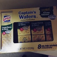 Lance Fresh Cream Cheese & Chives Captain's Wafers Crackers 8 Pack uploaded by Alexandra S.