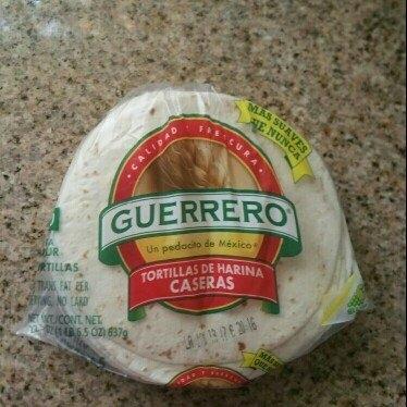 Guerrero® Tortillas de Harina Caseras Fajita Flour Tortillas 22.5 oz. Bag uploaded by lupe b.
