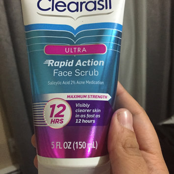 Clearasil Ultra Rapid Action Face Scrub uploaded by Stephanie  H.