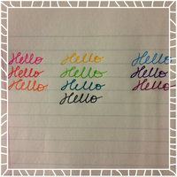 Paper Mate Inkjoy Gel Pens, Medium Point, Assorted, 10-Pack (1956279) uploaded by Haley A.