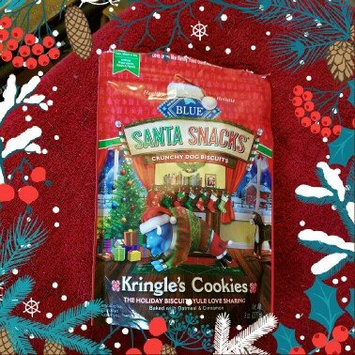 Photo of THE BLUE BUFFALO CO. BLUE™ SantaSnacks® Oatmeal & Cinnamon Crunchy Dog Biscuits Dog Treat uploaded by Laura A.