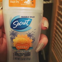 Secret Antiperspirant & Deodorant Invisible Solid, Hawaii Citrus Breeze, 2.6 oz uploaded by Kim R.