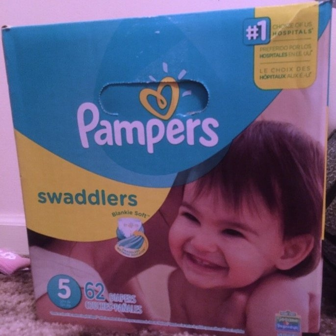 Pampers Swaddlers Diapers  uploaded by kadeeja p.