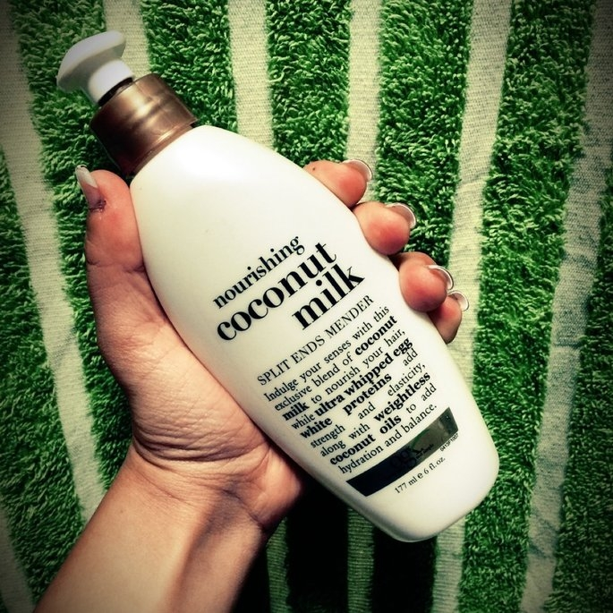 Organix Coconut Milk Split Ends Mender uploaded by Annalisa I.
