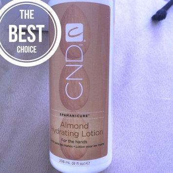 Photo of CND SpaManicure Almond Hydrating Lotion 8 oz uploaded by Iryna S.