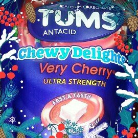 Photo of Tums Chewy Delights Cherry Calcium Soft Chews - 32 Count uploaded by tiffany g.