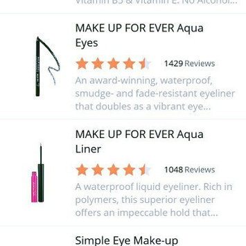 Photo of MAKE UP FOR EVER Aqua Liner uploaded by Agustina B.