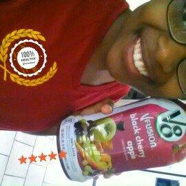 Photo of V8® V-Fusion + Energy Peach Mango Flavored Vegetable & Fruit Juice uploaded by Tiara C.