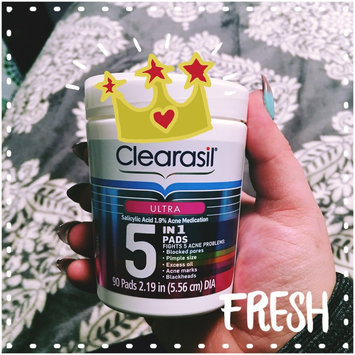 Clearasil® Ultra 5-in-1 Acne Medication Pads uploaded by Rachael R.
