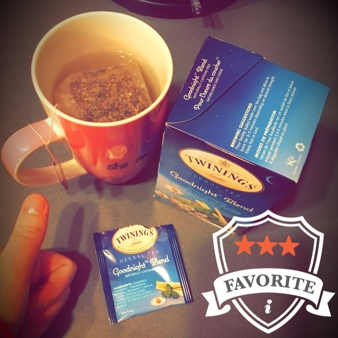 Twinings of London® Herbal Tea Goodnight™ Blend 20 ct 29g Box uploaded by Ashley D.