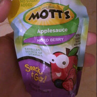 Mott's® Applesauce Mixed Berry uploaded by Brittany W.