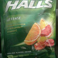 HALLS Defense Assorted Citrus Sugar Free Vitamin C Supplement Drops uploaded by Melissa O.