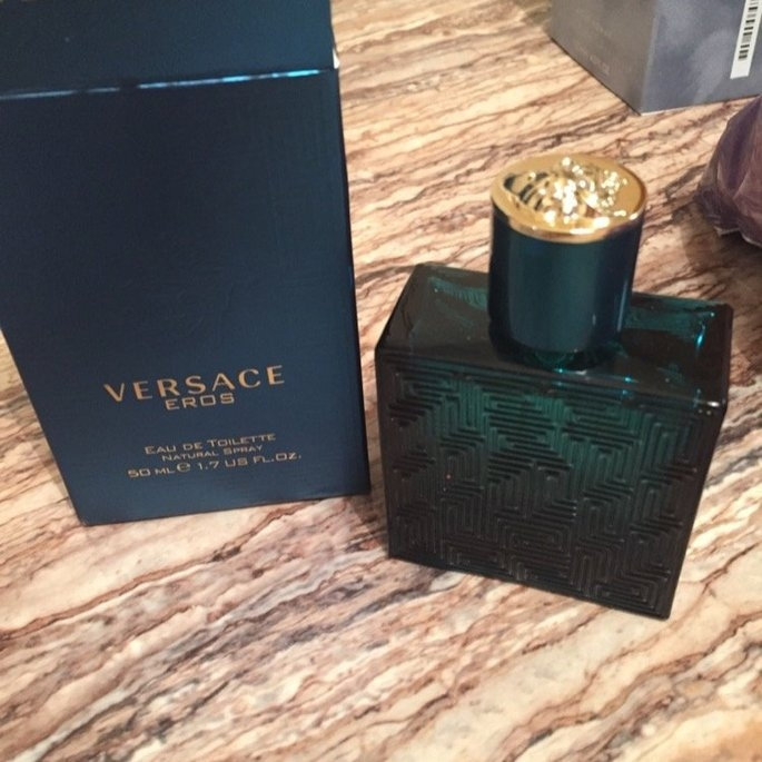 Versace Eros Eau de Toilette uploaded by Christine K.