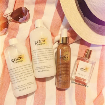 Photo of Philosophy Pure Grace Summer Shimmering Dry Body Oil uploaded by Emily C.