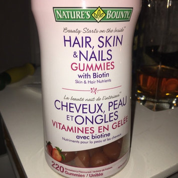 Photo of Nature's Bounty Hair, Skin & Nails Value Size Gummies uploaded by Nicole S.