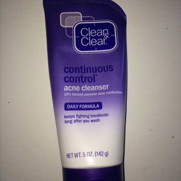 Photo of Clean & Clear® Continuous Control® Acne Cleanser uploaded by Becky G.