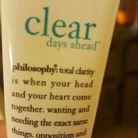 philosophy clear days ahead oil-free salicylic acid acne treatment & moisturizer uploaded by Abra R.