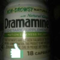 Dramamine® Non-Drowsy Naturals Motion Sickness Relief Capsules uploaded by Michelle L.