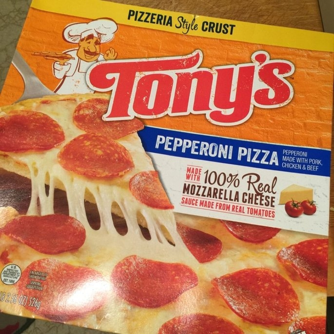 Tony's™ Pizzeria Style Crust Pepperoni Pizza 18.56 oz. Box uploaded by Wendy C.