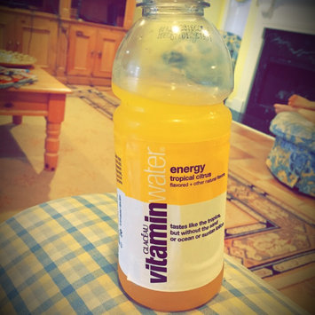 vitaminwater Energy Tropical Citrus uploaded by Sophie F.