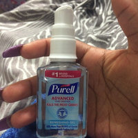PURELL Advanced Hand Sanitizer Refreshing Gel 2 Oz Pump Bottle, For hands on the go uploaded by Rashanae P.