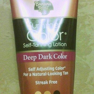 Banana Boat® Summer Color® Deep Dark Color Self-Tanning Lotion 6 fl. oz. Tube uploaded by Amanda W.