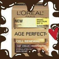 L'Oréal Paris Age Perfect Cell Renewal Day SPF 15 Cream - 1.7 oz uploaded by Alicia D.