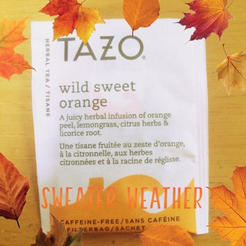 Photo of Tazo Wild Sweet Orange Herbal Tea uploaded by Ana S.