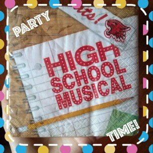 Rubie's Costume Co High School Musical Beverage Napkins 16ct uploaded by Mery H.