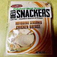 Land O'Frost® Deli Snackers™ Rotisserie Seasoned Chicken Breast Baked Meat Snacks 2 oz. Bag uploaded by Aubrey M.