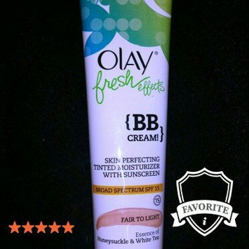 Olay Fresh Effects {BB Cream!} uploaded by Nicole H.
