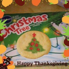Photo of Pillsbury Ready to Bake Christmas Tree Shape Sugar Cookies Cookie Dough - 24 CT uploaded by mayra m.