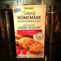 Fleischmann's® Simply Homemade® Raspberry Muffin & Bread Baking Mix 13.4 oz. Box uploaded by Betsy K.