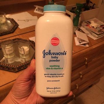 Photo of Johnson's® Baby Pure Cornstarch Powder Aloe Vera & Vitamin E uploaded by Vanessa R.