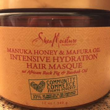 SheaMoisture Manuka Honey & Mafura Oil Intensive Hydration Hair Masque uploaded by Christine B.