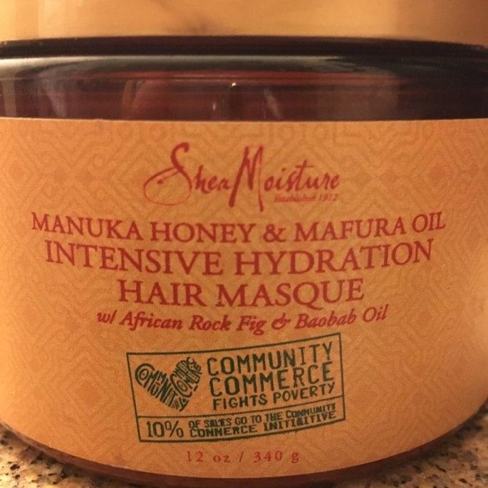 SheaMoisture Manuka Honey & Mafura Oil Intensive Hydration Hair Masque uploaded by Christine B.