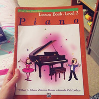 Alfred Alfred's Basic Piano Course Lesson Book 2 uploaded by Rachel f.