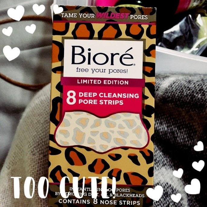 Biore® Deep Cleansing Pore Strips 8 ct Box uploaded by McKayla P.
