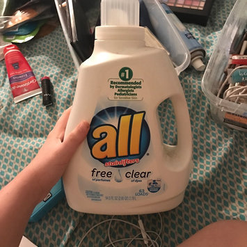 Photo of all free clear Laundry Detergent uploaded by Sarah G.
