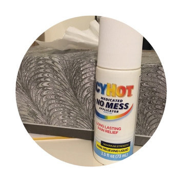 Icy Hot Medicated No Mess Applicator Maximum Strength Pain Relieving Liquid uploaded by Yisel C.