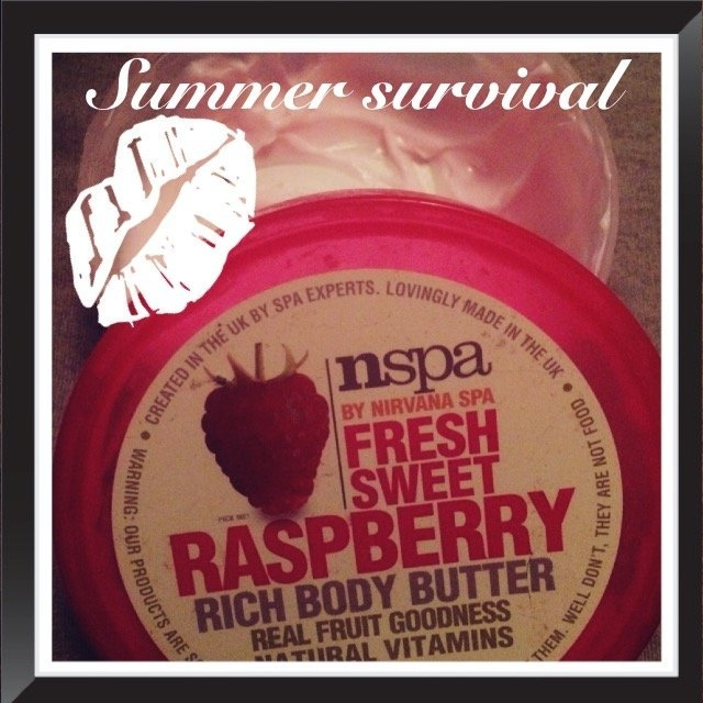 NSPA Fresh Sweet Raspberry Rich Body Butter, 6.76 fl oz uploaded by Stacie D.