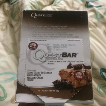 Quest Nutrition - QuestBar Natural Protein Bar Chocolate Chip Cookie Dough - 2.12 oz. uploaded by Gabriela M.