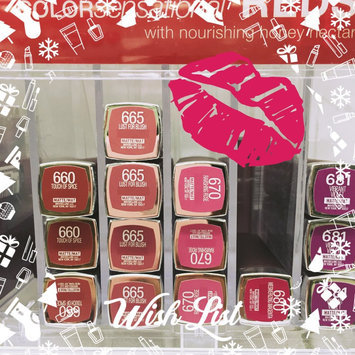 Maybelline New York Color Sensational Creamy Matte Lip Color - Siren in Scarlet (Pack of 2) uploaded by SiddeeQah L.