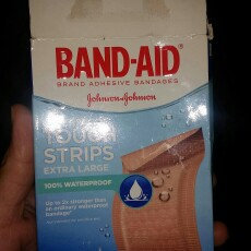 Photo of Band-Aid Adhesive Bandages Sheer Strips Extra Large - 10 CT uploaded by Alicia H.