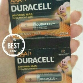 Duracell Coppertop AAA Batteries uploaded by Luz A.