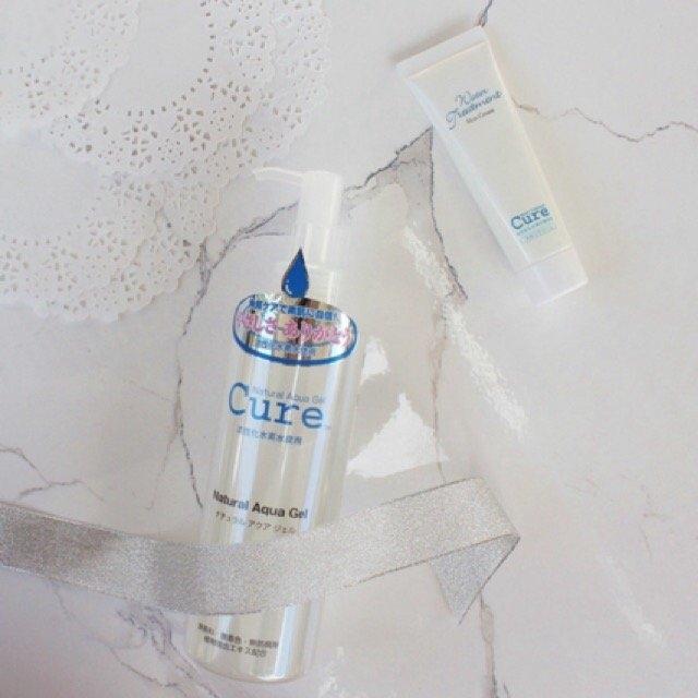 Cure Natural Aqua Gel 250ml - Best selling exfoliator in Japan! uploaded by Joyce Janelle G.
