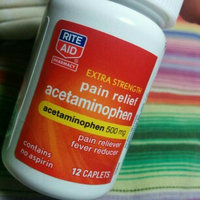 Rite Aid Extra Strength Acetaminophen 500mg. 500 Caplets uploaded by Ashley A.